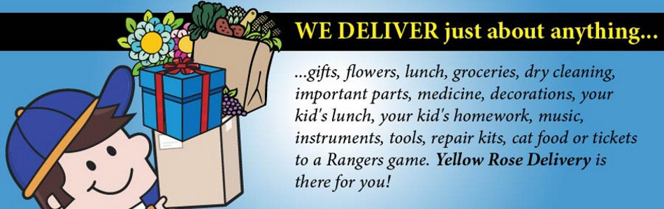 We deliver Just about anything